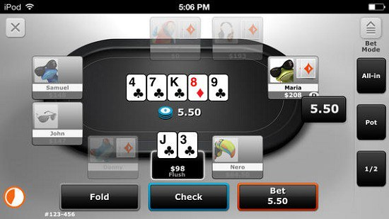 Party Poker Mobile