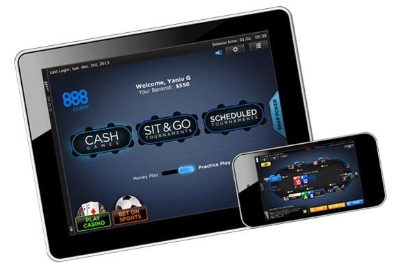 мобильном покер онлайн